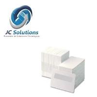 Tarjetas 80-030-GQ-SIG Blancas De PVC Con Una Banda De Escritura