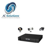 SAXXON PRO SAX7208HS3KIT KIT CCTV 8 CANALES